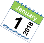 Blended Retire Calendar - January First 2018