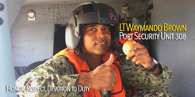 LT Waymando Brown