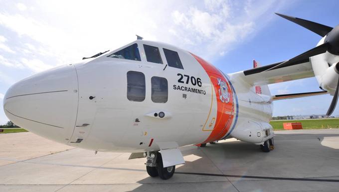 C-27J medium range surveillance aircraft