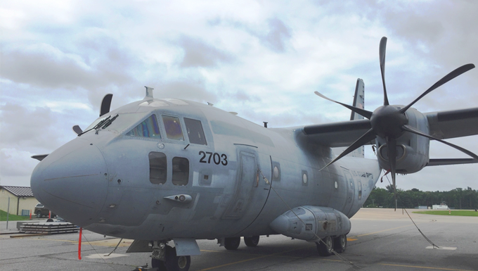 C-27J Spartan medium range surveillance aircraft