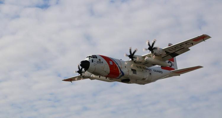 CGNR 2004, an HC-130J Super Hercules long range surveillance aircraft
