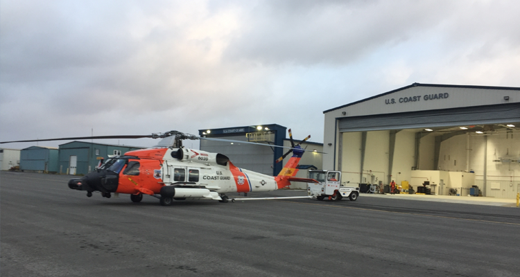 Coast Guard Air Station Kodiak MH-60 Jayhawk helicopter