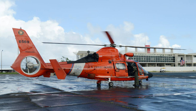 MH-65 Dolphin helicopter