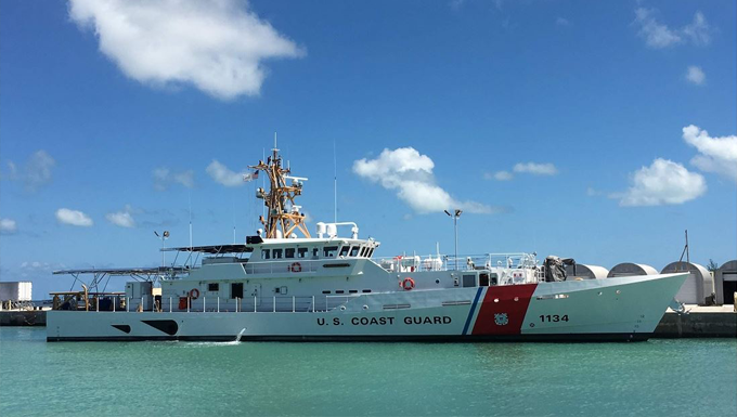 Coast Guard Accepts 34th Fast Response Cutter
