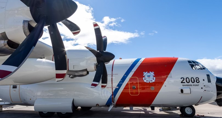 HC-130J operations at Coast Guard Air Station Barbers Point