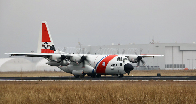 Coast Guard's newest Minotaur Mission System Suite-missionized HC-130J