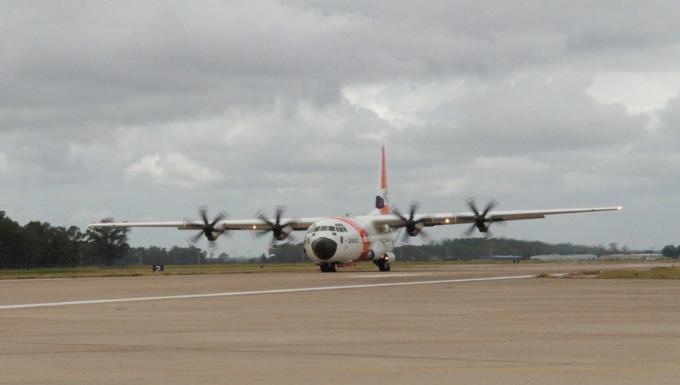 Coast Guard Exercises Option for Fourth HC-130J Minotaur Retrofit