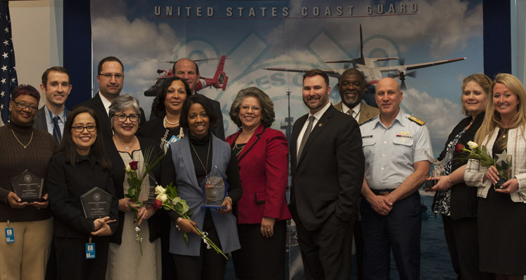 Coast Guard Contracting and Procurement Enterprise Recognition Ceremony