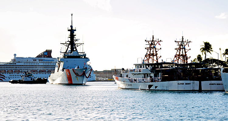 Seventh National Security Arrives In Honolulu Homeport