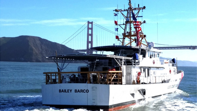 Coast Guard Cutter Bailey Barco