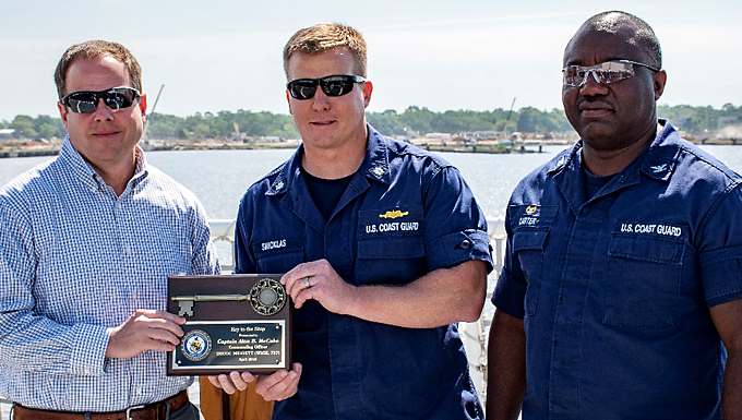 CGC Midgett accepted by CG