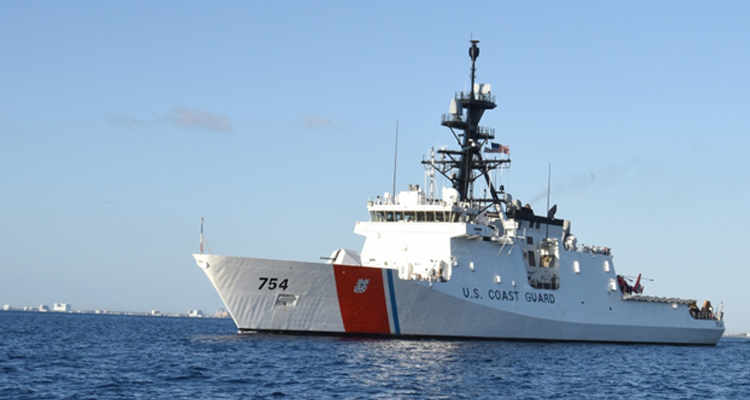 Coast Guard Cutter James