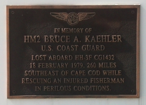 Bruce Kaehler Memorial Plaque