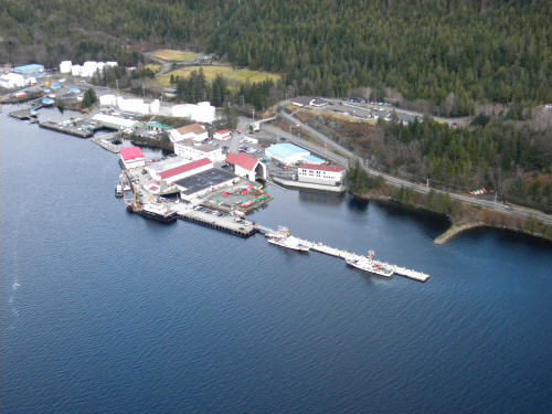 Base Ketchikan Aerial View