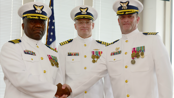 New Leaders Take Command At Legacy Sustainment Support Unit and Project Resident Office Gulf Coast