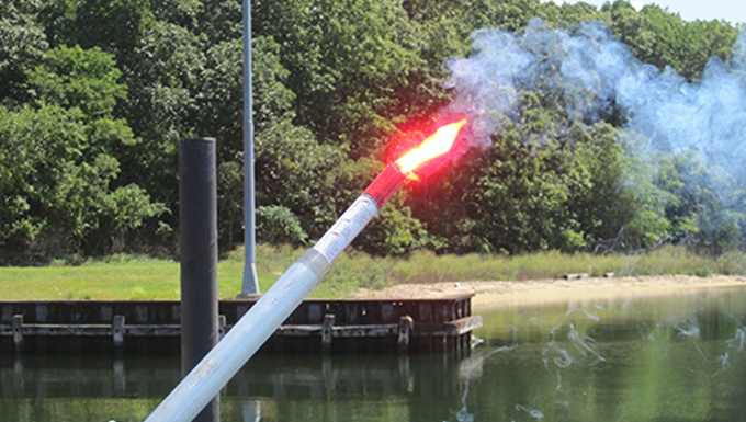 RDT&E Researches Alternatives To Pyrotechnic Distress Signals