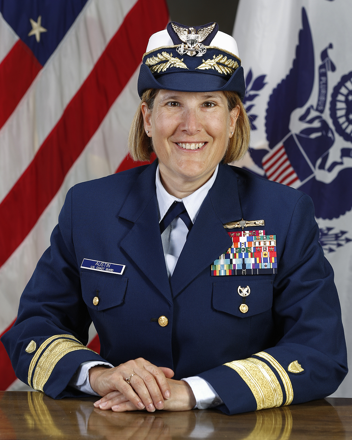 Photo of Rear Admiral Meredith Austin