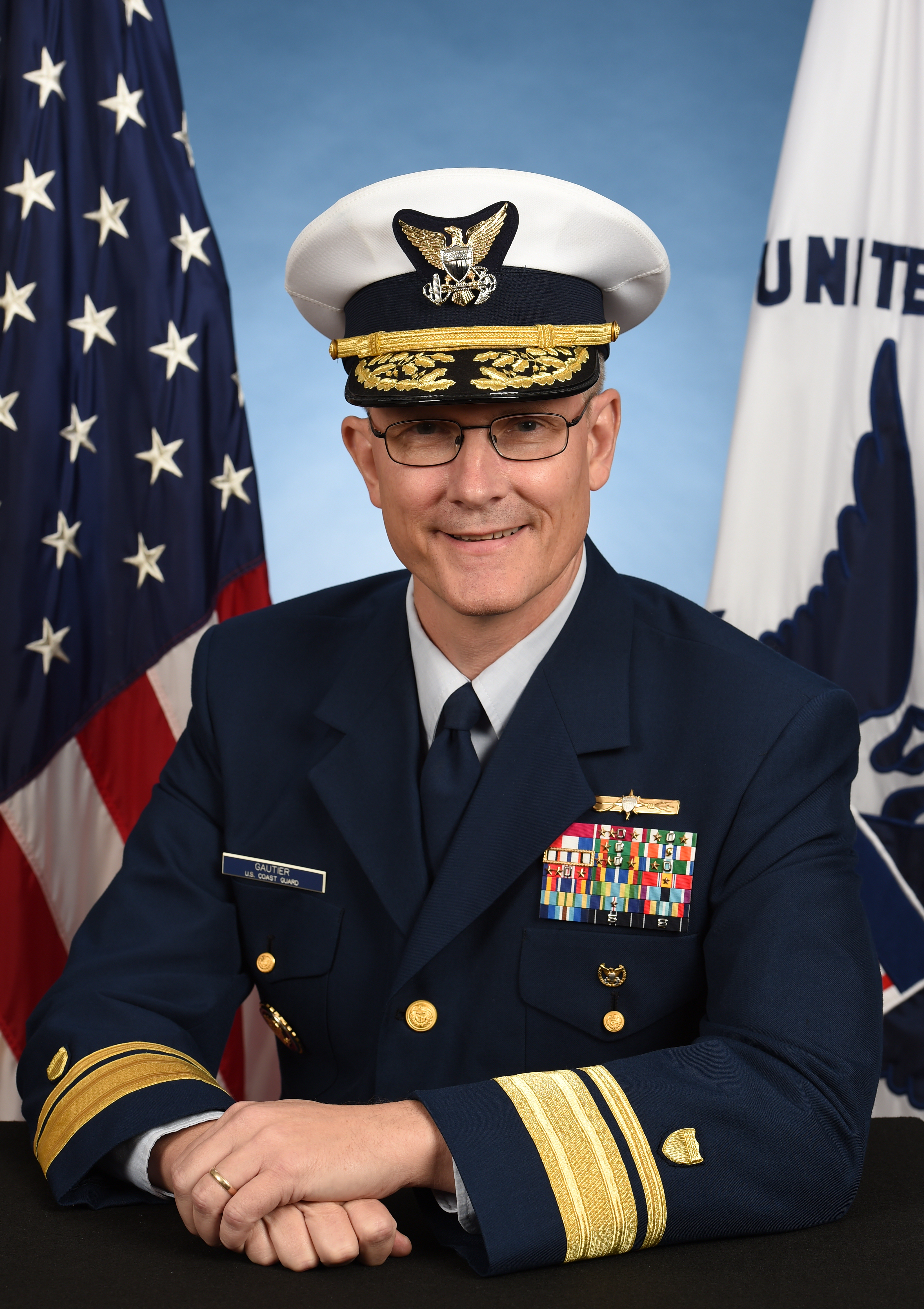 Photo of Rear Admiral Peter W. Gautier