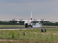 HC-130J Super Hercules long range surveillance aircraft