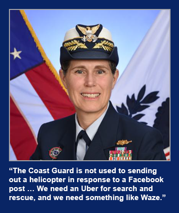 Vice Adm. Sandra Stosz, deputy commandant for mission support