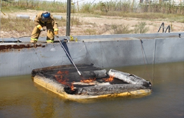 Insitu Burning for Oil