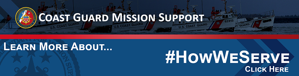 Coast Guard Mission Support | Click for How We Serve
