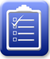 Icon depicting acceptable documents