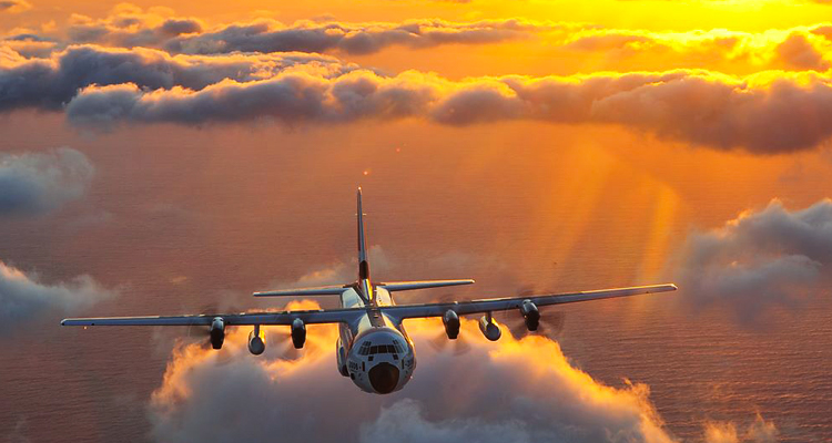 HC-130J long range surveillance aircraft